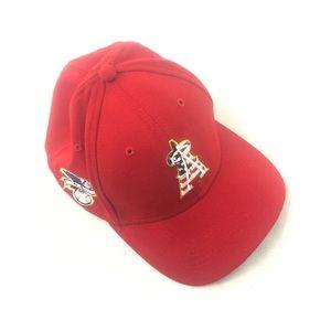 39thirty Red MLB L.A. Angels hat cap S M